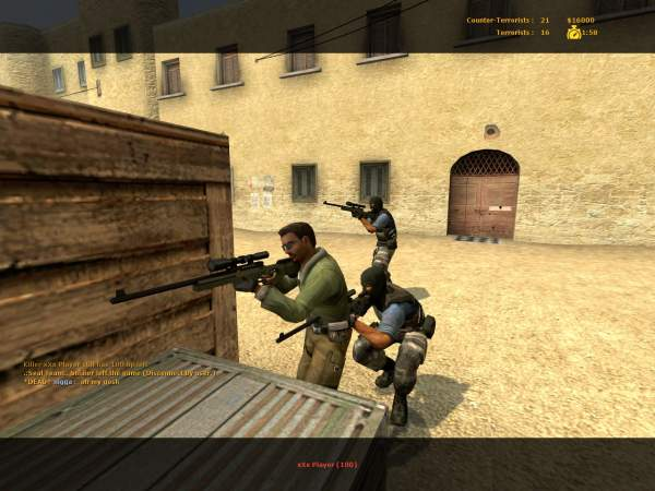 counter strike source owns